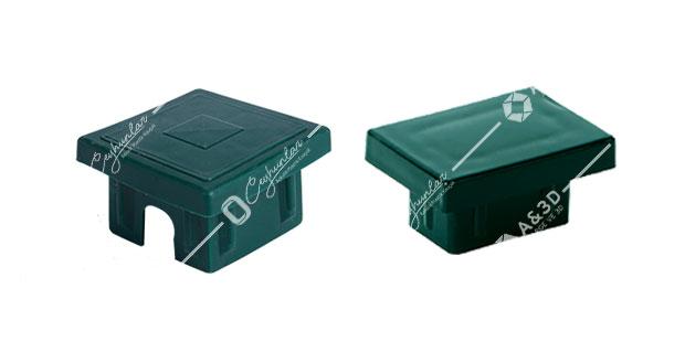 İç, Düz Panel Çit Kutu Profil Kapakları