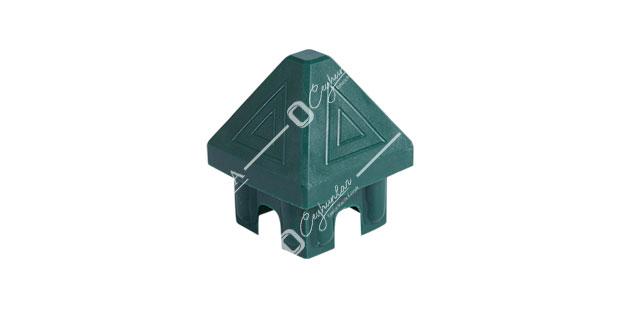 İç, Kubbeli Panel Çit Kutu Profil Kapakları