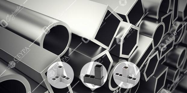 Kutu ve Boru Profil Birleştirme Plastikleri
