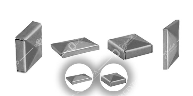Metal, Kutu Profil Tapaları