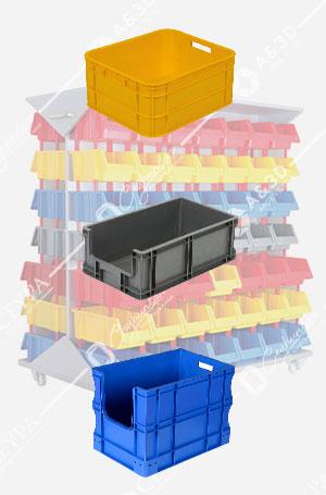 Plastik Avadanlık Kutuları ve Raf Sistemleri